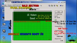 Memisahkan Bad Sector Pada Hardisk Menggunakan Hiren's Boot CD