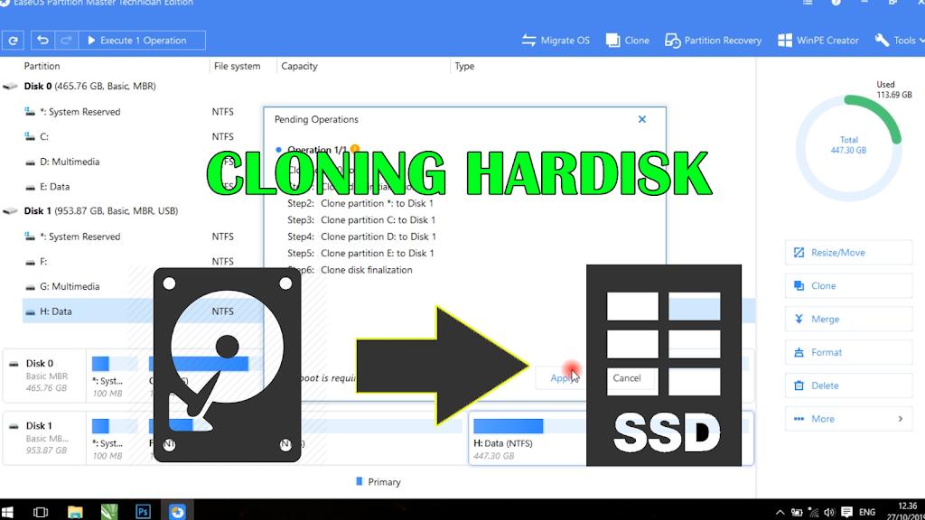 Read more about the article Cara Cloning atau Duplikat Hardisk