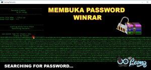 Cara Menghilangkan Password Winrar