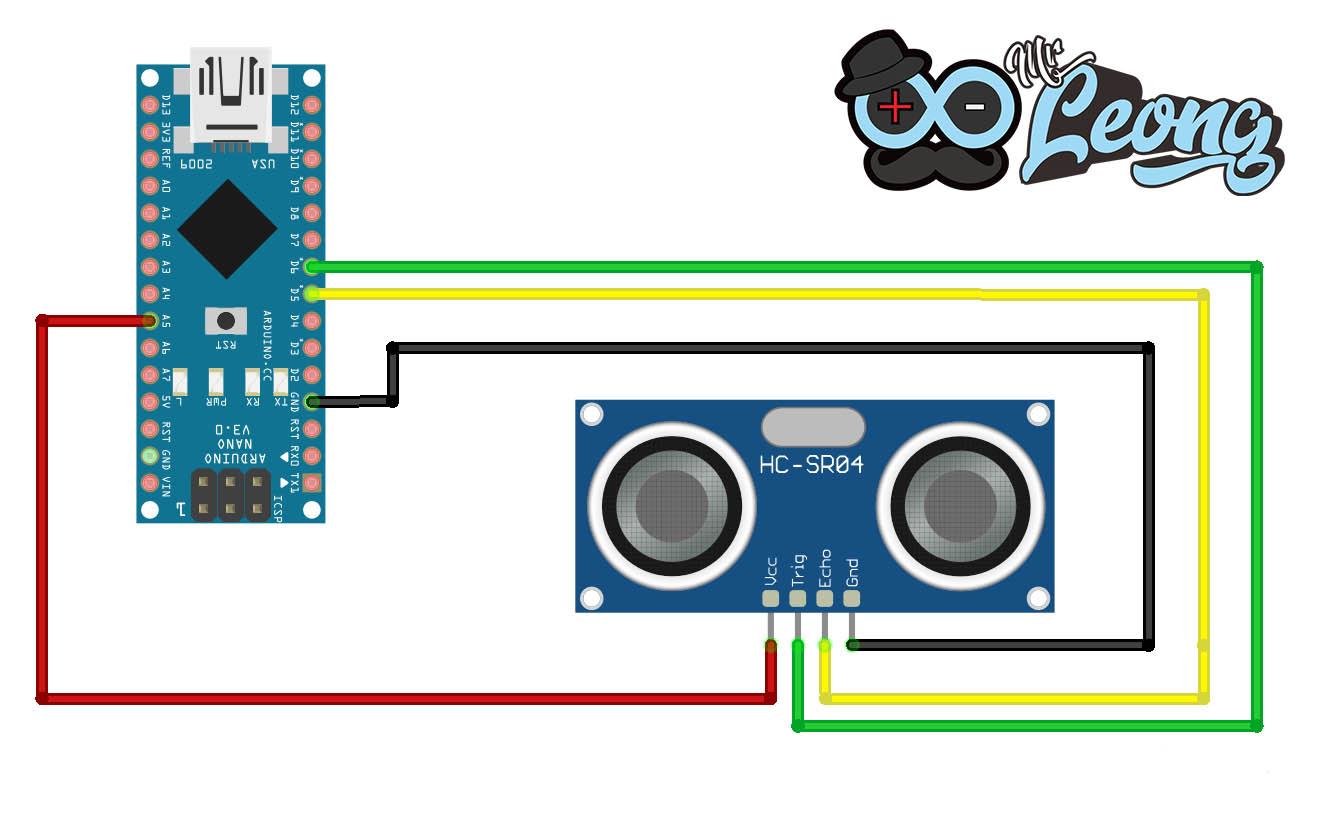 Cara Menggunakan Ultrasonic Sensor dengan Arduino