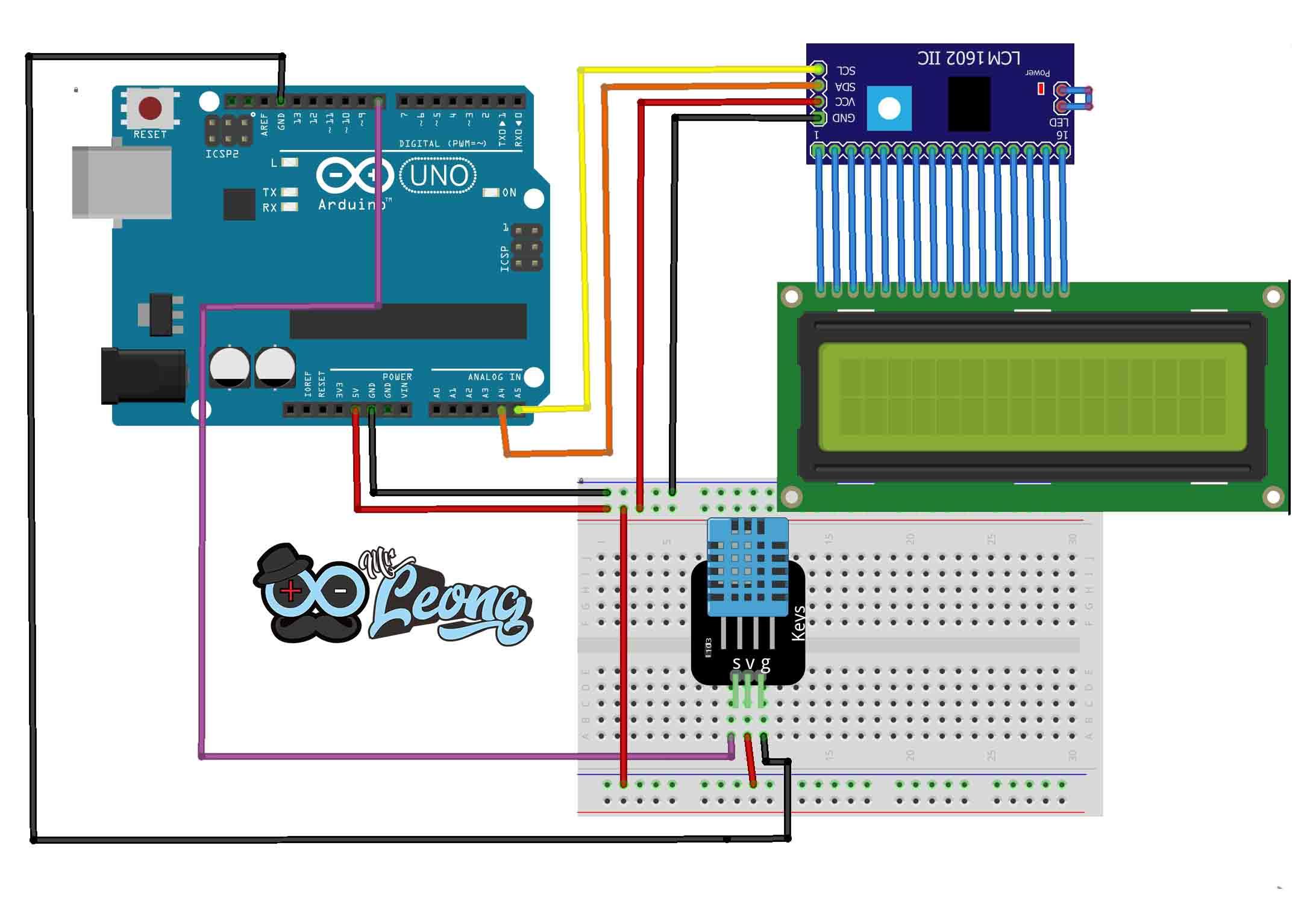Cara Menggunakan Modul Sensor Suhu DHT 11