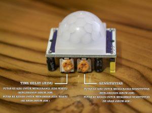 Cara Menggunakan Sensor Pir Tanpa Arduino